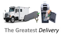 the greatest cash delivery service